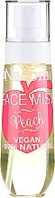 Parfums et Produits cosmétiques Brume visage naturelle à la pêche - Nacomi Face Mist Peach