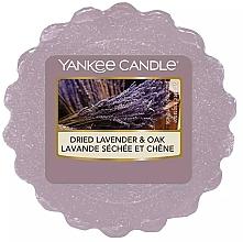 Parfums et Produits cosmétiques Cire parfumée pour lampe aromatique - Yankee Candle Dried Lavender & Oak Wax Melt