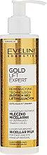 Parfums et Produits cosmétiques Lait micellaire démaquillant à l'or pour visage et yeux - Eveline Cosmetics Gold Lift Expert