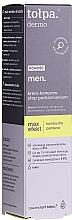 Parfums et Produits cosmétiques Crème de nuit à l'extrait de cardamome sauvage - Tolpa Dermo Men Max Effect Cream Compress