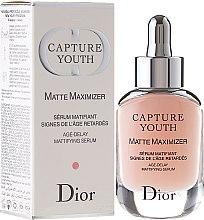 Parfums et Produits cosmétiques Sérum matifiant signes de l'âge retardés - Dior Capture Youth Matte Maximizer