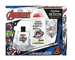 Parfums et Produits cosmétiques Marvel The Avengers - Set (eau de toilette/50ml + gel douche/250ml)