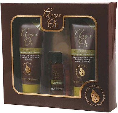 Xpel Marketing Ltd Argan Oil - Set (shampooing 100ml + après-shampooing 100ml + huile 30ml)