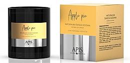 Parfums et Produits cosmétiques Bougie de soja naturelle, Tarte aux pommes - APIS Professional Apple Pie Candle
