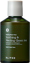 Parfums et Produits cosmétiques Masque liquide apaisant et purifiant au thé vert pour visage - Blithe Patting Splash Mask Soothing Green Tea