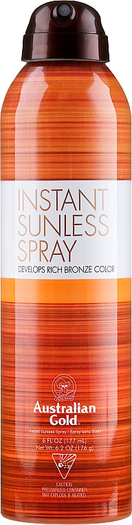 Lotion autobronzante - Australian Gold Self-Tanning Spray Sunless Instant — Photo N1