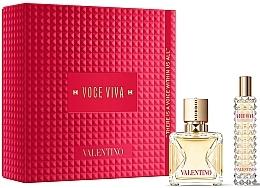 Parfums et Produits cosmétiques Valentino Voce Viva - Coffret (eau de parfum/50ml + eau de parfum/mini/15ml)