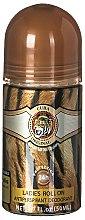 Parfums et Produits cosmétiques Cuba Jungle Tiger - Déodorant roll-on anti-transpirant