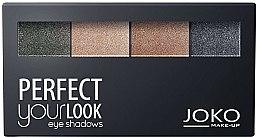 Parfums et Produits cosmétiques Palette fards à paupières - Joko Perfect Your Look Quattro Eye Shadows New