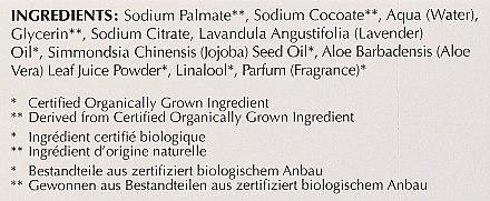 Savon à la lavande, huile d'aloe vera et jojoba - Bentley Organic Body Care Calming & Moisturising Soap Bar — Photo N4