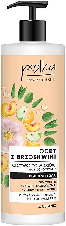 Après-shampooing au vinaigre de pêche - Polka Peach Vinegar Conditioner — Photo N1