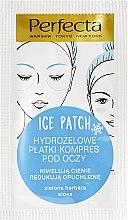 Parfums et Produits cosmétiques Patchs hydrogel au thé vert et aloès contour des yeux - DAX Perfecta Ice Eye Patch