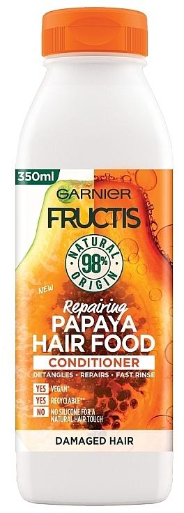 Après-shampooing à l'extrait de papaye - Garnier Fructis Repairing Papaya Hair Food Conditioner