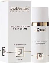 Parfums et Produits cosmétiques Crème de nuit à l'acide hyaluronique - BioDermic Hyaluronic Acid Night Cream