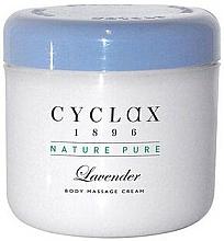 Parfums et Produits cosmétiques Crème de massage à l'huile de lavande - Cyclax Nature Pure Lavender Massage Cream