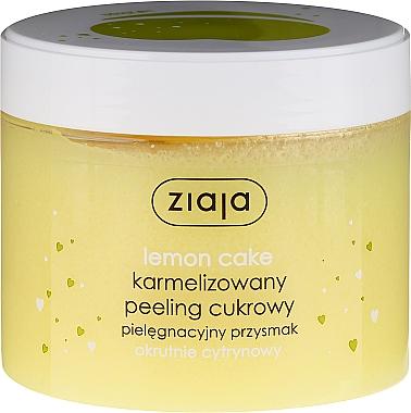 "Peeling corporel au sucre ""Cake au citron"" - Ziaja Sugar Body Peeling"