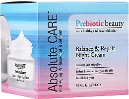 Parfums et Produits cosmétiques Crème de nuit aux prébiotiques - Absolute Care Prebiotic Beauty Balance&Repair Night Cream