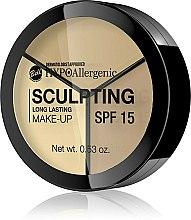 Parfums et Produits cosmétiques Fluide hypoallergénique à longue durée pour contour visage SPF 15 - Bell HypoAllergenic Long Lasting Sculpting Make-Up