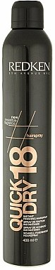 Spray de finition instantanée pour cheveux - Redken Quick Dry 18 Instant Finishing Spray — Photo N1
