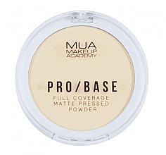 Parfums et Produits cosmétiques Poudre compacte matifiante pour visage - MUA Pro-Base Full Coverage Matte Pressed Powder