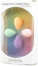 Parfums et Produits cosmétiques Set de mini éponges à maquillage - Beautyblender Micro.Mini Correct.Four (4pcs)