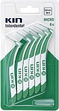 Parfums et Produits cosmétiques Brossettes interdentaires vertes 0,9 mm - Kin Micro ISO 2
