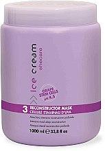 Parfums et Produits cosmétiques Masque à l'huile de coton et kératine pour cheveux - Inebrya Ice Cream SheCare Reconstructor Mask
