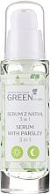 Parfums et Produits cosmétiques Sérum-gel-masque à l'extrait de persil pour visage et cou - Floslek Green For Skin Serum