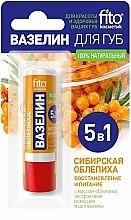 Parfums et Produits cosmétiques Vaseline à l'argousier de Sibérie pour lèvres - FitoKosmetik