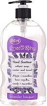 Parfums et Produits cosmétiques Gel désinfectant pour mains, Lavande - Bluxcosmetics Naturaphy Alcohol Hand Sanitizer With Lavender Fragrance