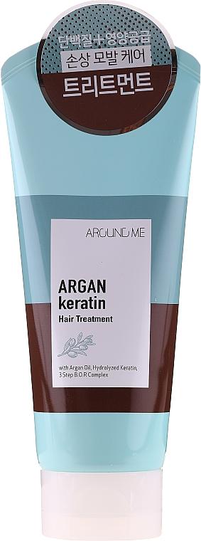 Traitement à l'huile d'argan pour cheveux - Welcos Around Me Argan Keratin Hair Treatment