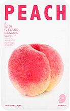 Parfums et Produits cosmétiques Masque tissu à la pêche pour visage - The Iceland Peach Mask