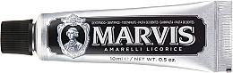 Parfums et Produits cosmétiques Dentifrice - Marvis Dentif Amarelli Licorice (mini)