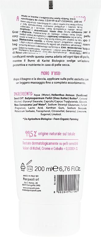 Crème à l'eau de rose bio pour corps - Ekos Personal Care — Photo N2