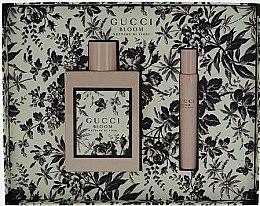 Parfums et Produits cosmétiques Gucci Bloom Nettare Di Fiori - Coffret cadeau (eau de parfum/100ml + eau de parfum/7.4ml)