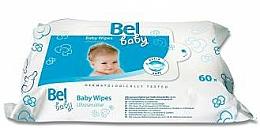 Parfums et Produits cosmétiques Lingettes humides bébé peaux sensibles - Bel Baby Wipes