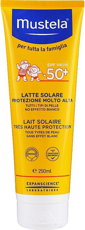 Lait solaire à l'huile d'avocat pour corps - Mustela Bebe Very High Protection Sun Milk SPF50+ — Photo N3