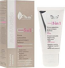 Parfums et Produits cosmétiques Crème perfecteur de teint aux extraits de noix et carotte pour visage - Ava Laboratorium Ava Mustela 5In1 Cream