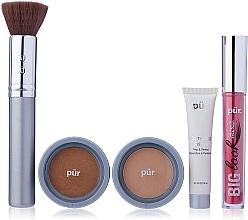 Parfums et Produits cosmétiques Pur Minerals Best Sellers Starter Kit Golden Medium - Kit (base/10ml + fond de teint/4.3g + bronzer/3.4g + mascara/5g + pinceau)
