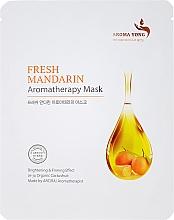 Parfums et Produits cosmétiques Masque en tissu visage Mandarine - Aroma Yong Aromatherapy Mask Fresh Mandarin