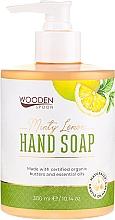 Parfums et Produits cosmétiques Savon liquide Citron à la menthe - Wooden Spoon Minty Lemon Hand Soap