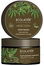 Parfums et Produits cosmétiques Masque bio à l'huile de chanvre pour cheveux - Ecolatier Organic Cannabis Hair Mask