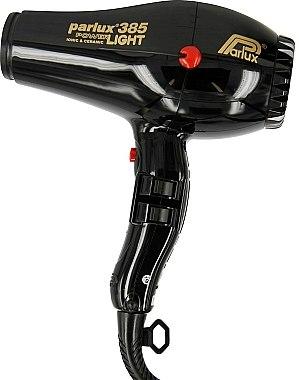Sèche-cheveux - Parlux Hair Dryer 385 Powerlight Ionic & Ceramic Black — Photo N1