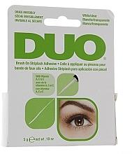 Parfums et Produits cosmétiques Colle trasparente aux vitamines pour faux-cils avec applicateur - Duo Brush-On Lash Adhesive