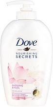 Parfums et Produits cosmétiques Savon liquide à l'extrait de fleur de lotus et eau de riz pour mains - Dove Nourishing Secrets Glowing Ritual Hand Wash