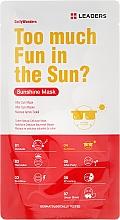 Parfums et Produits cosmétiques Masque tissu après-soleil à la camomille pour visage - Leaders Daily Sunshine Mask