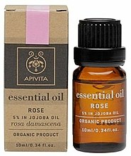 Parfums et Produits cosmétiques Huile essentielle de rose de Damas bio - Apivita Aromatherapy Organic Rose Oil