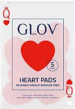 Parfums et Produits cosmétiques Disques démaquillants réutilisables, cœur - Glov Heart Pads