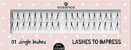Parfums et Produits cosmétiques Faux-cils individuels - Essence Lashes To Impress 01 Single Lashes