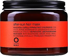 Parfums et Produits cosmétiques Masque après-soleil  à l'huile d'olive pour cheveux - Rolland Oway Sunway